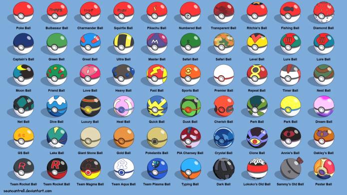 Pokemon Go Pokeball Regular Great Ultra Master Pokeball