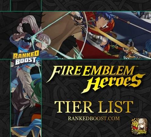 fire emblem heroes tier list best