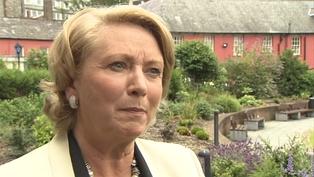 Frances Fitzgerald has responded to Cardinal Seán Brady's warning