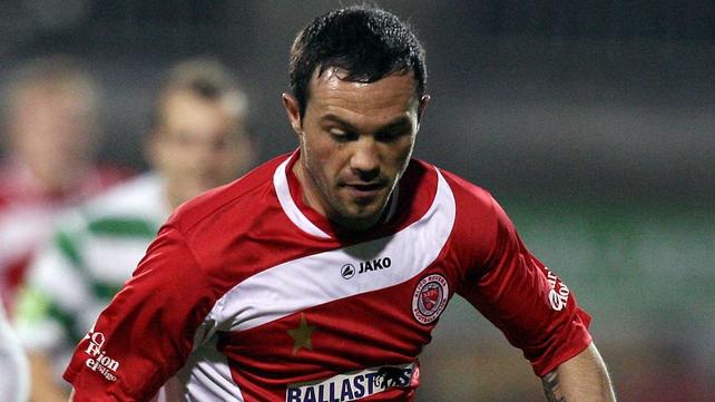 Raffaele Cretaro put Sligo Rovers on the scoresheet