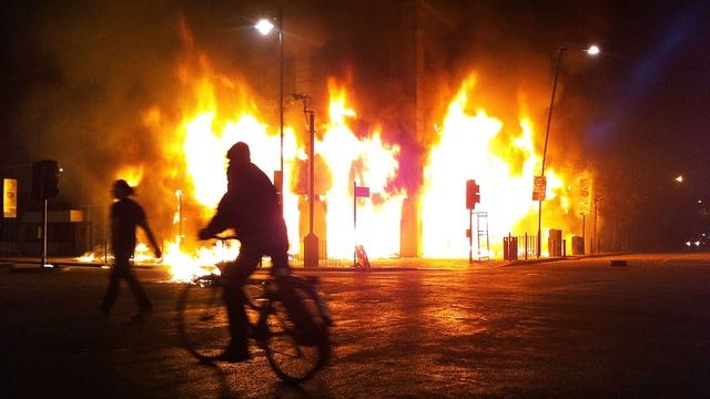 England - Riots last week