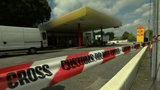 Fuel from filling stations was seized