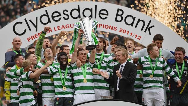 Glasgow Celtic champions 2012