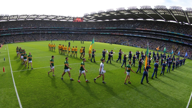 Kerry top the list after regaining Sam Maguire