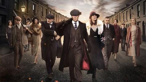 Cillian Murphy & de crew in Peaky Blinders S4