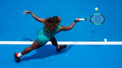 Serena Williams took just 49 minutes to come through 6-0 6-2