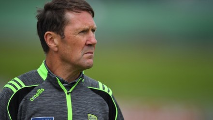 Jack O'Connor on the sidelines for Kerry U20s this summer