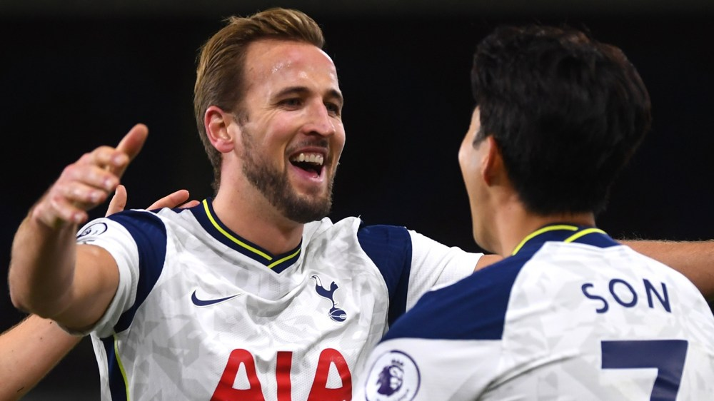 Son and Kane combine again as Tottenham beat Burnley