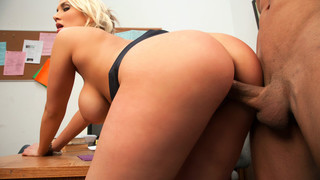 Alanah Rae & Marco Rivera in Naughty Office porn image
