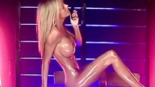 Kerrie Lee_Oiled up on a Desk on S66 porn image