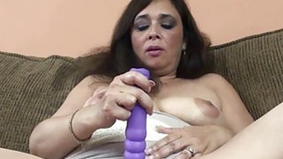 Alesia Pleasure is_fucking her purple dildo porn image