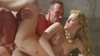 Barby and Lynn Stone Dped in a Roman Orgy porn image