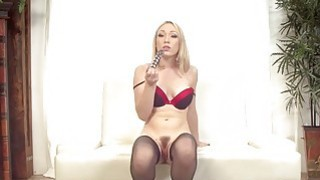 Gorgeous blonde Lily Labeau is ready for a raw dick pounding porn image