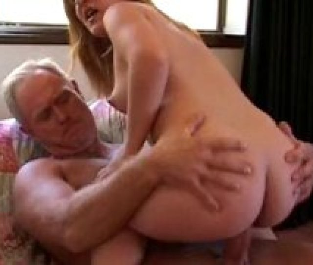 Cute Teen Midget Gets Pussy Pounded By An Old Man