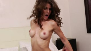 Cock hungry Jenni Lee loves hard and tough fuck porn image