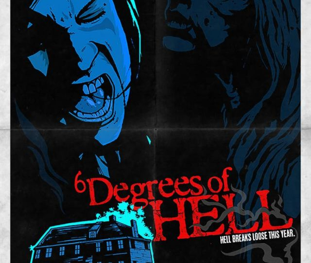 6 Degrees Of Hell Poster