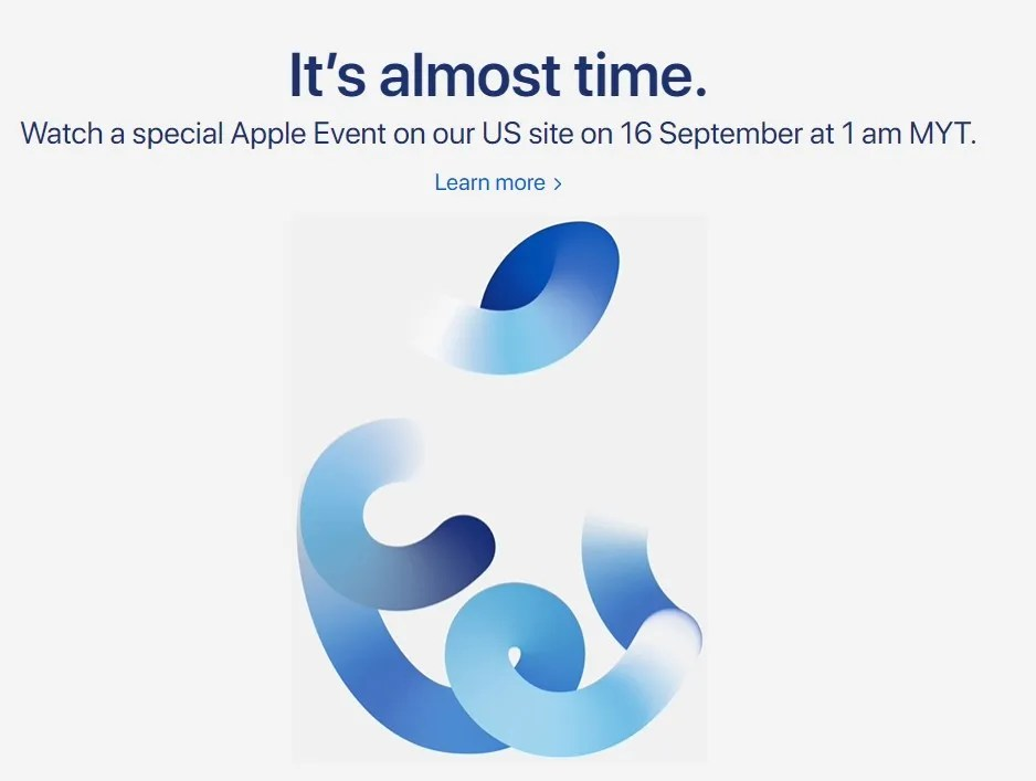 """Apple unveiled the new family of smartphones alongside the apple watch 7, ipad and ipad mini at the """"california streaming"""" event on 14th. Check Out The Apple Event Time In Malaysia The Direct Link To Watch Time Flies In Myt"""