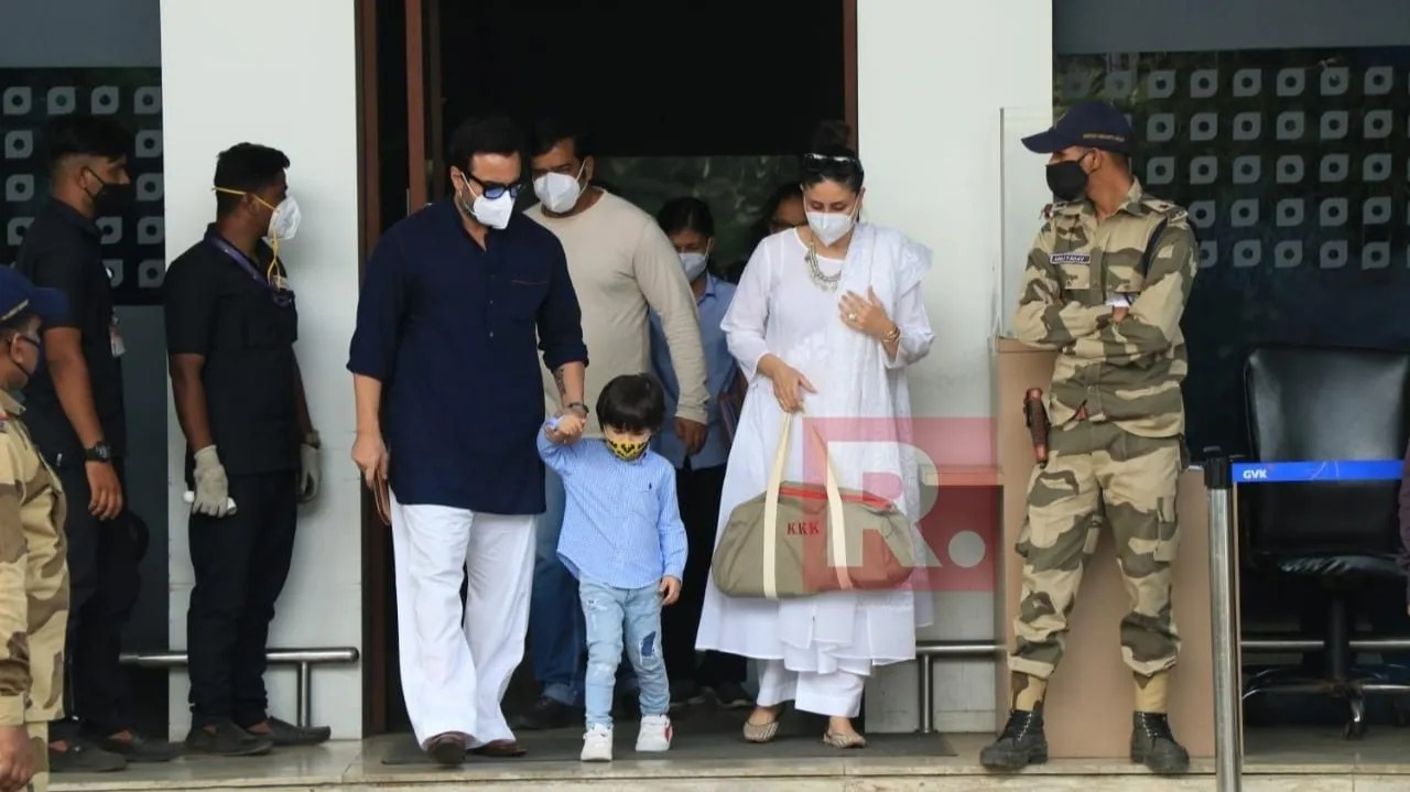 Kareena Kapoor Khan, Saif, Taimur