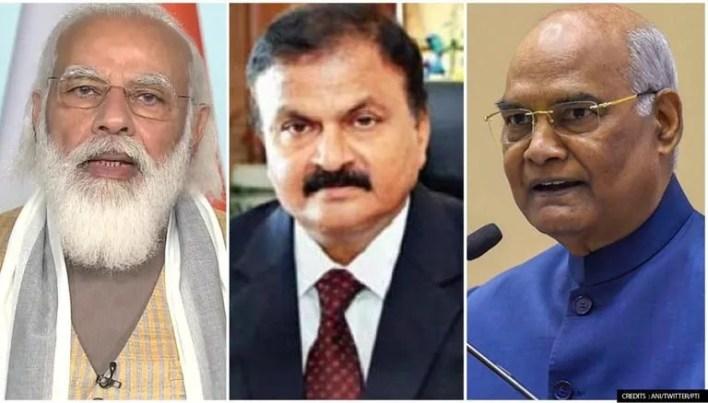PM Modi, Guruprasad Mohapatra, Ram Nath Kovind