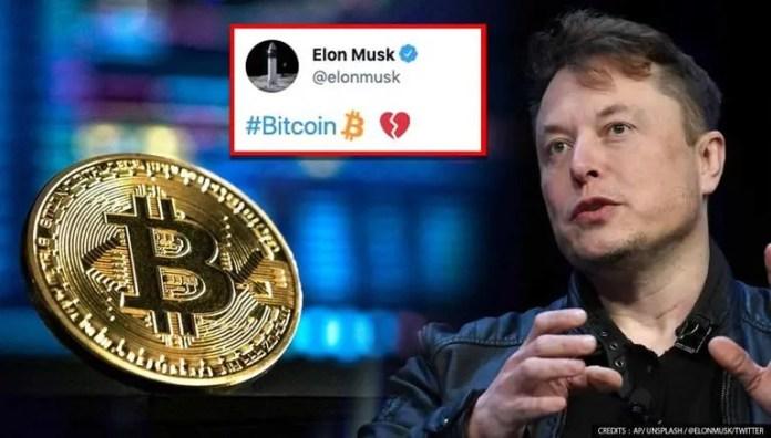 Elon Musk tweets heartbreak emoji with Linkin Park song, Bitcoin market  value slumpsElon Musk and Jack Dorsey's big reveal on Crypto?