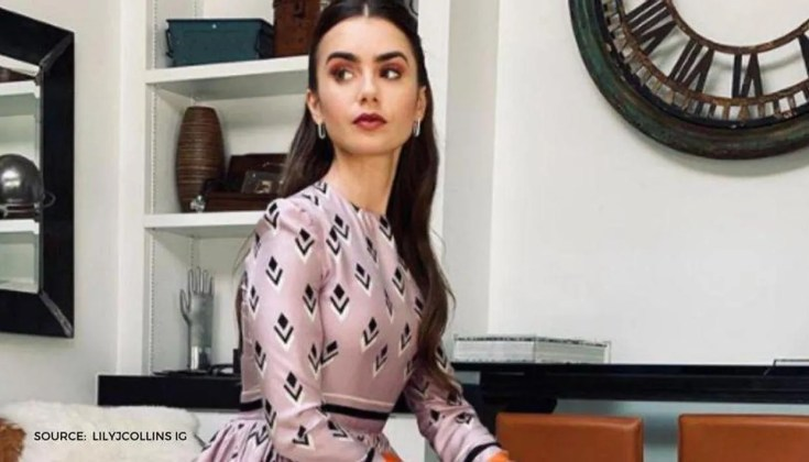 Lily Collins Wishes She Still Had Her British Accent