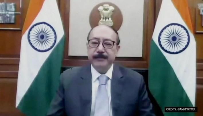 Harsh Vardhan Shringla at UNSC
