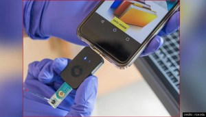 The new COVID-19 test chip delivers results on a smartphone