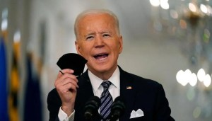 Reaching the latest milestone on the vaccine, Biden is pushing injections for everyone