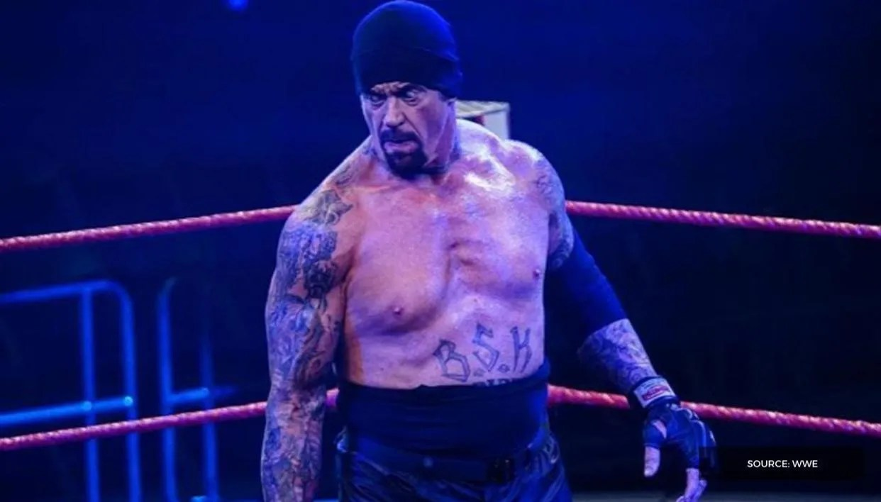 Image result for the undertaker empty arena