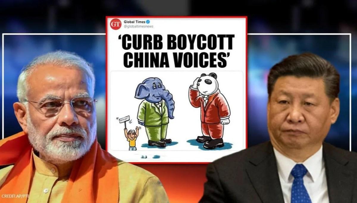 Boycott China' call forces Beijing to blink; nervous 'dangerous ...