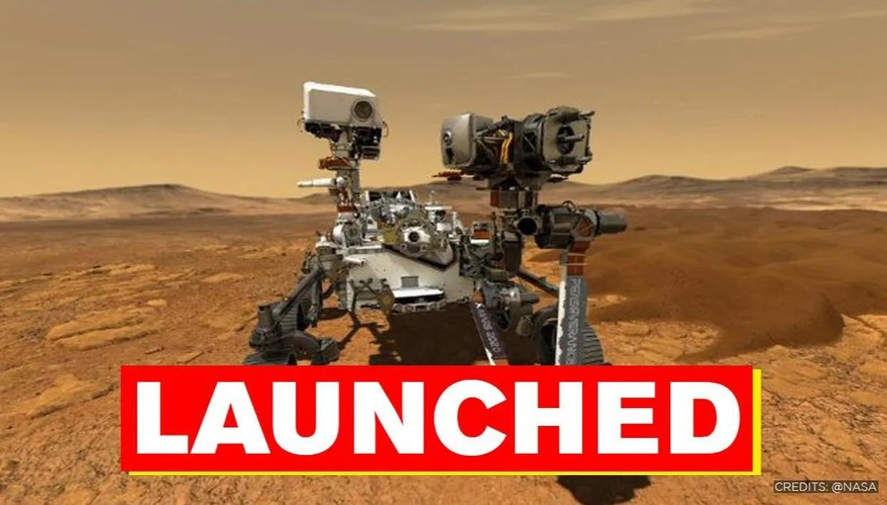 NASA's Mars 2020 Perseverance rover launched: Watch the ...