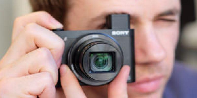 旅遊機 Sony Cyber-shot DSC - HX90V 30倍長焦 搭載EVF 及 WX500