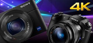 Sony  RX100M4及RX10 II 正式發表,採用堆疊式感光元件、支援4K動態錄影