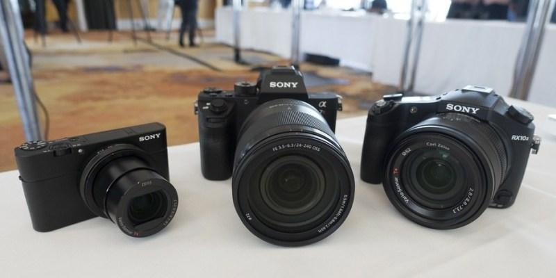極致高畫質 SONY A7R II、RX10 II、RX100 IV  將正式登台開賣