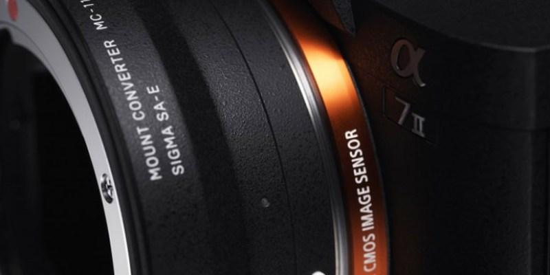 Sigma發表Sony E-Mount轉接環 「MC-11」Canon /Sigma 鏡頭可支援自動對焦