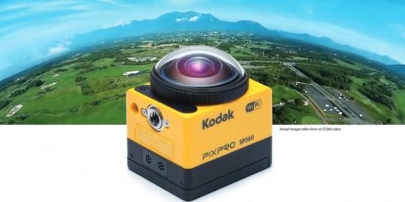突破極限 Kodak  PIXPRO 全景 VR 攝影機 SP360 支援4K影像