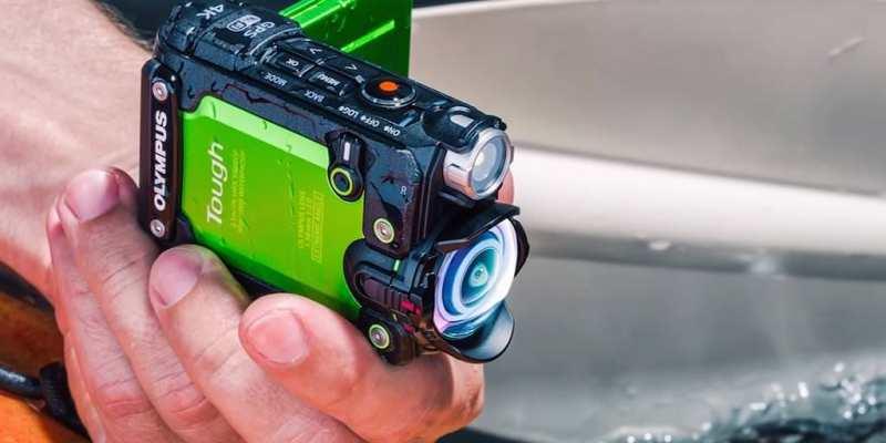 4K運動型相機 Olympus Stylus Tough TG-Tracker 支援防水、防撞、防塵 及可翻轉螢幕