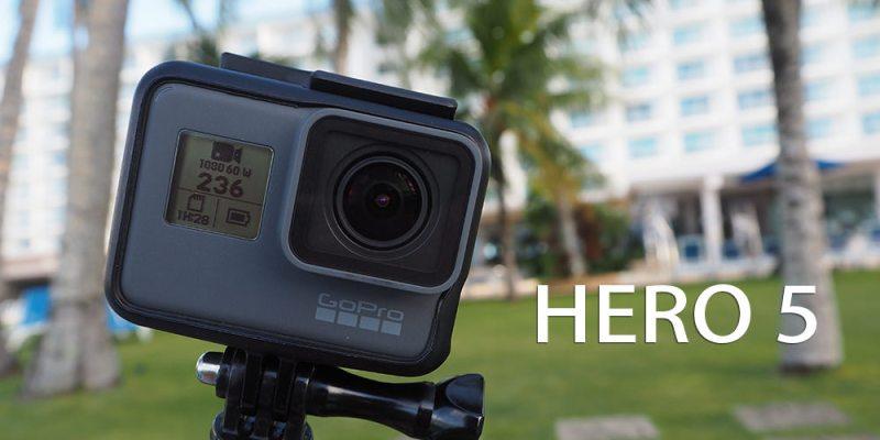 評測》極限運動 GoPro HERO 5 Black 開箱文|裸機防水、語音控制