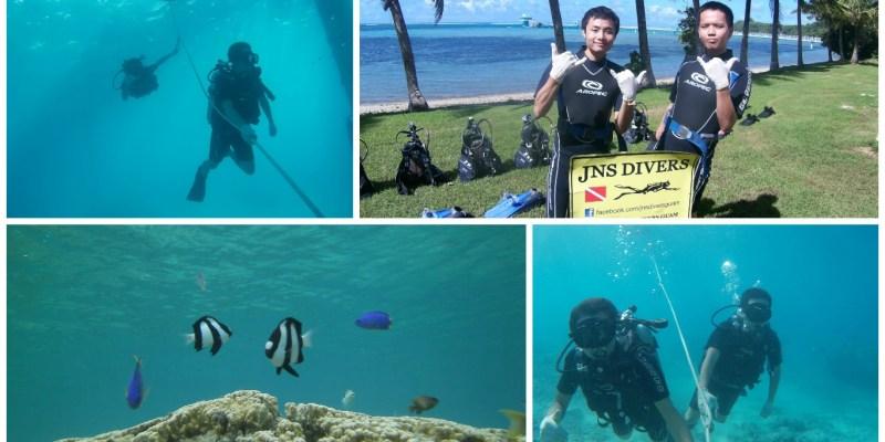 關島》水肺潛水 JNS DIVERS GUAM - 初體驗 勇闖海底新世界