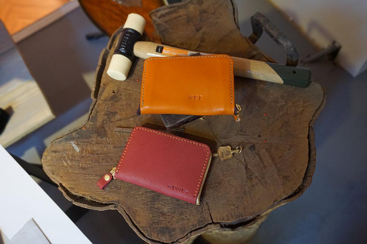 台中》精明商圈 Handiin 日本手工袋包 體驗工坊一日課程 – 製作專屬皮夾