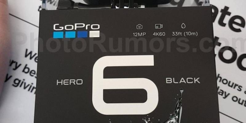 「新品資訊」GoPro Hero 6 即將09/28發表|4K錄影畫質再提升