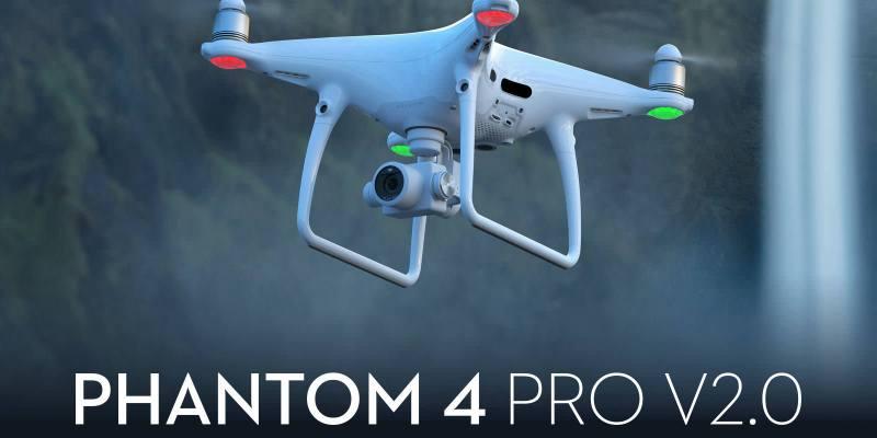 DJI 正式發佈 Phantom 4 Pro V2.0 有效噪音下降 OcuSync傳輸技術