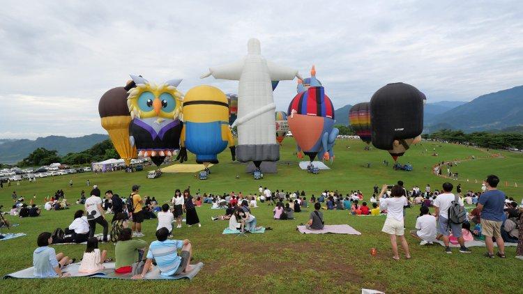 台東》行前攻略 2018台東熱氣球嘉年華 – 台東鹿野高台 期待與它見面!