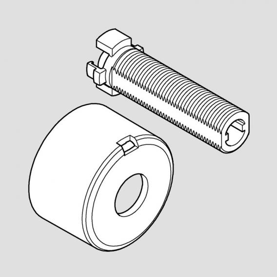 grohe concealed spindle for smartcontrol