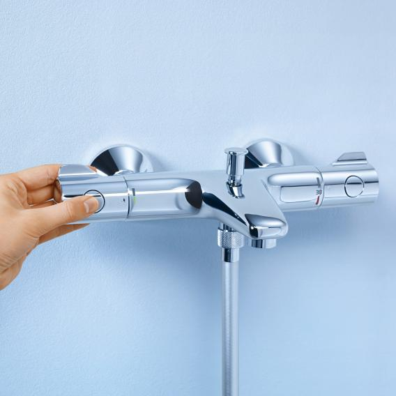 grohe grohtherm 800 mitigeur thermostatique bain douche pour montage mural