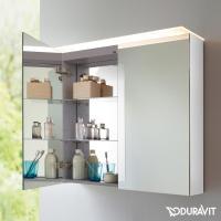 Duravit X Large Spiegelschrank mit LED Beleuchtung weiß ...