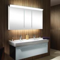 Schneider FACELINE Spiegelschrank mit LED Beleuchtung weiß ...