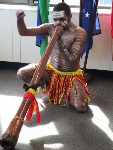 Didgeridoo Performance - Tribal Warrior Reservations