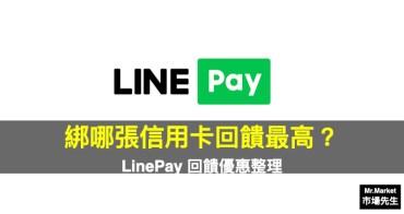 LinePay信用卡 該綁哪張回饋最高?2021 LinePay回饋優惠整理