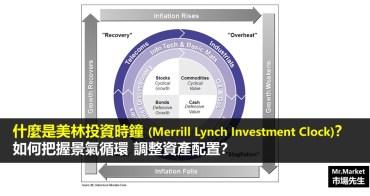 什麼是美林投資時鐘?(Merrill Lynch Investment Clock)如何觀察景氣循環調整資產配置?